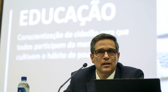 O presidente do Banco Central, Roberto Campos Neto