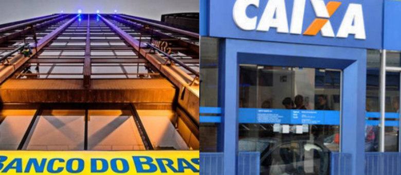 ac50ae9141 Banco do Brasil e Caixa Econômica Federal vão economizar R  2