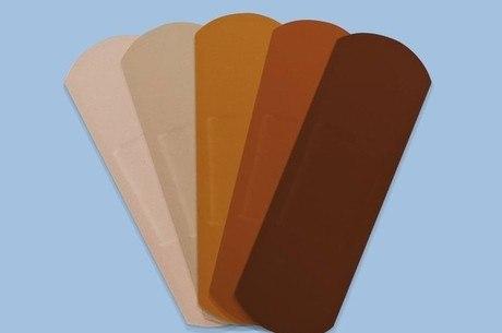 Band-Aid terá diferentes tonalidade