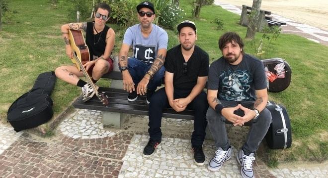 Bula: Lena Papini, Pinguim Ruas, André Freitas e Marcão Britto