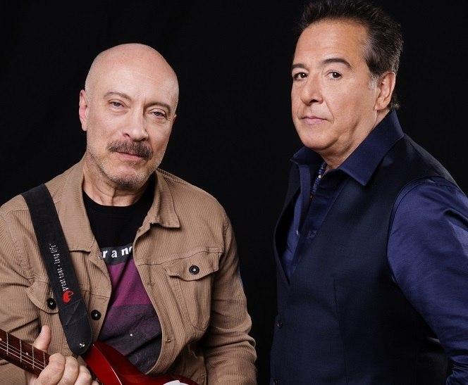 Edgard Scandurra e Nasi são fundadores da banda Ira!