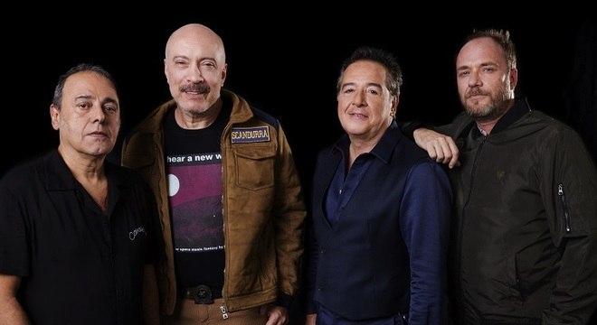 A nova formação do Ira!:  Johnny Boy, Edgard Scandurra, Nasi e Evaristo Pádua