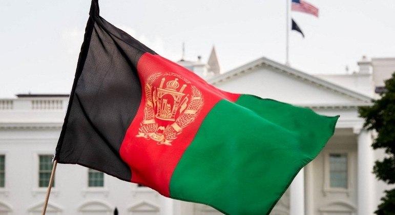 Bandeira Afeganistão EUA