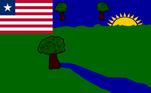 E aí chegamos às bandeiras dos condados, que possuem uma arte bastante característica, que lembra bastante as feitas no programa Microsoft Paint, principalmente as versões antigas do software