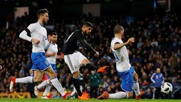 Mesmo sem Messi, Argentina vence Itália no amistoso realizado na Inglaterra ()
