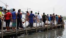Sobe para 34 número de mortos em naufrágio de balsa em Bangladesh