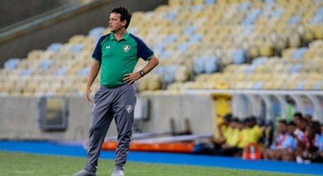 Bangu x Fluminense Fernando Diniz