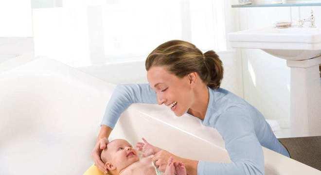 Banho do bebê - Saiba tudo como banhar seu bebê recém nascido