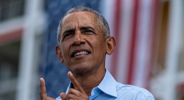 Ex-presidente do EUA Barack Obama