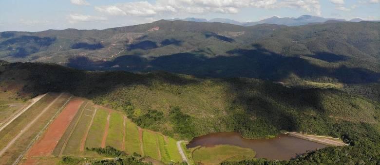 Barragem Sul Superior, em Barão de Cocais, está na lista do MPT