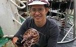 Os pesquisadores coletaram cerca de 12 mil criaturas do fundo do mar. Dentre eles, a barata do mar 'Darth Vader'Bombou no HORA 7!Filha invade necrotério após pai ser declarado morto e o encontra vivo