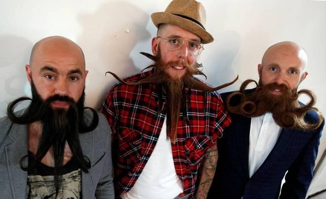 A segunda edição do Campeonato Francês de Barba aconteceu neste sábado (9), com a intenção de premiar os barbudos mais bonitos do país