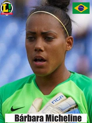 Bárbara - 8,5 - Goleira salvou a Seleção Brasileira em três grandes chegadas da China e fez importantes defesas em lances que fatalmente seriam gols.