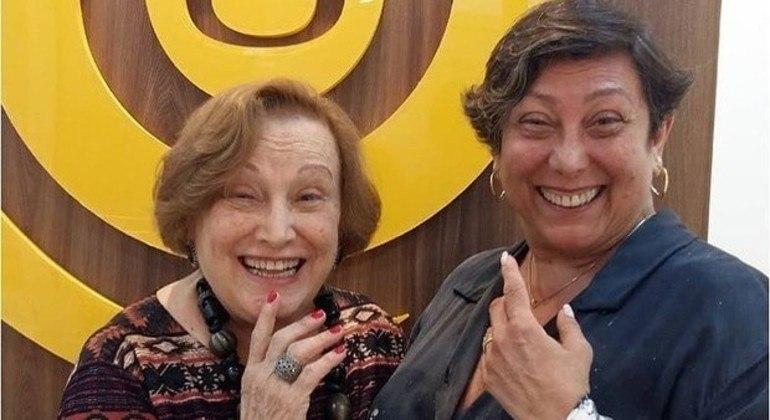 Intubada com covid-19, filha de Nicette Bruno, Bárbara Bruno, evolui bem ao tratamento