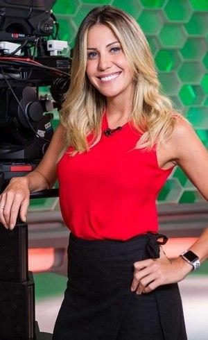 """Bárbara Coelho, apresentadora do """"Esporte Espetacular"""""""