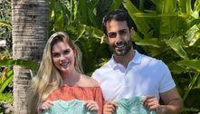Grávida de gêmeos, Bárbara Evans encoraja mulheres: 'Nunca desista'