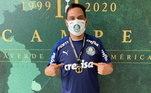 Bello é tão querido do grupo e figura frequente no Palmeiras, que estava com a delegação no Rio de Janeiro, na final da Libertadores. O detalhe é que ele ganhou até medalha do bicampeonato