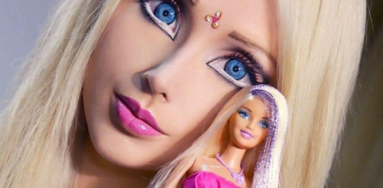 Barbie Humana Antes E Depois