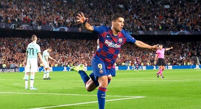 Suárez, do Barcelona