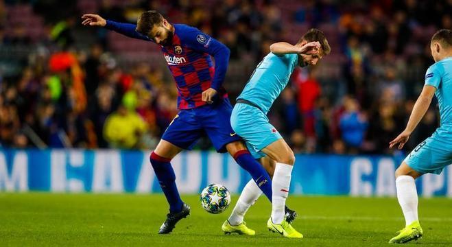 Barcelona 0 X 0 Slavia Praga