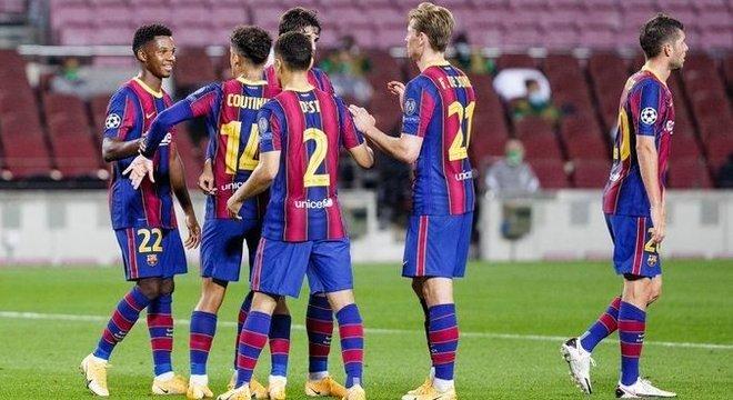 """O """"Blaugrana"""", resultado sossegado na Catalunha"""