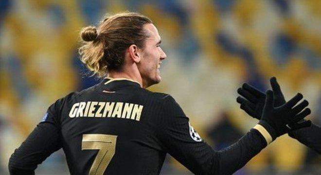 Griezmann, entrou aos 65 e fez o seu gol nos acréscimos