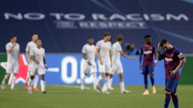 Barcelona humilhado pelo Bayer. 8 a 2. Messi em um time fraco. E com técnico ruim