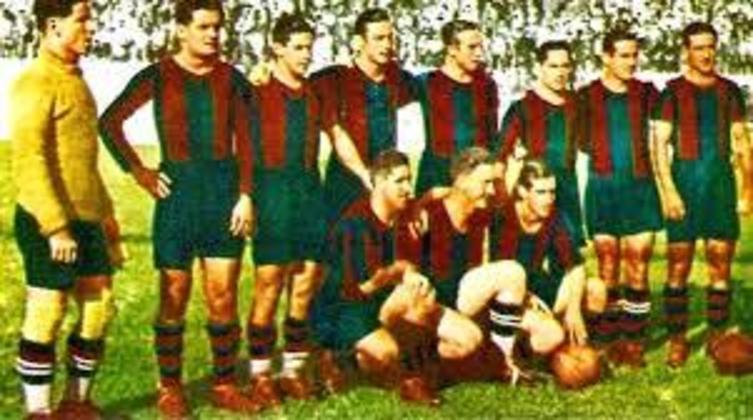 Barcelona 5 x 0 Real Madrid - 21 de abril de 1935 - Campeonato Espanhol - Estádio Les Corts