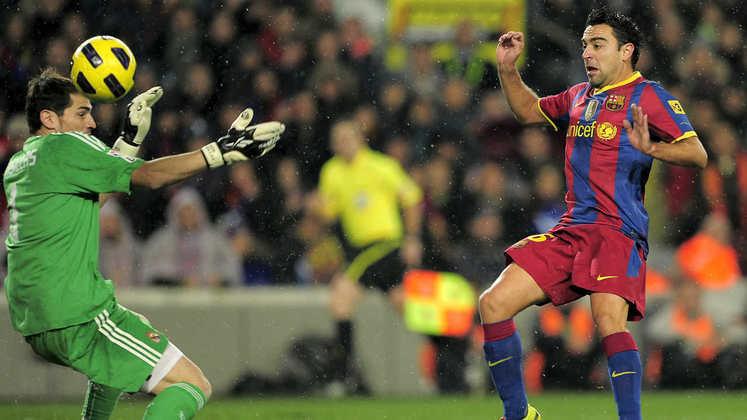 Barcelona 5 x 0 Real Madrid - 29 de novembro de 2010 - Campeonato Espanhol - Camp Nou