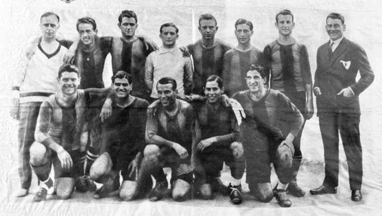 Barcelona 5 x 1 Real Madrid - 18 de abril de 1926 - Copa do Rei - Estádio Chamartín