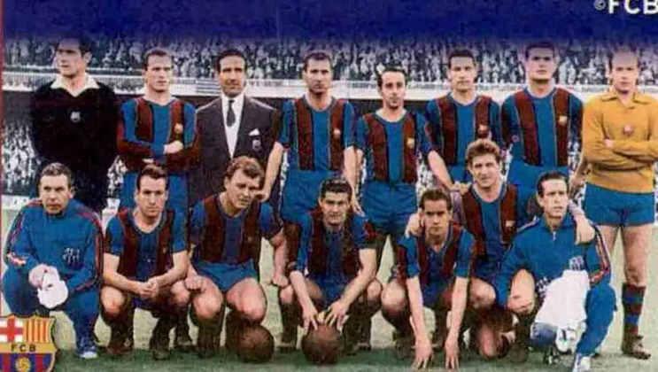 Barcelona 6 x 1 Real Madrid - 19 de maio de 1957 - Copa do Rei - Estádio Les Corts