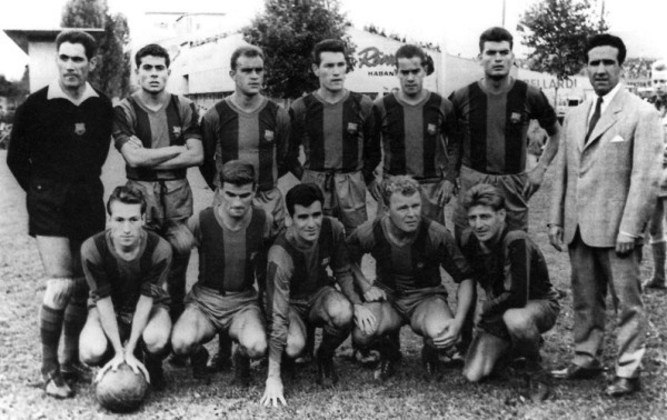 Barcelona 7 x 2 Real Madrid - 24 de setembro de 1950 - Campeonato Espanhol - Estádio Les Corts