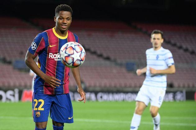 Barcelona: Ansu Fati (18 anos) - Posição: atacante - Valor de mercado: 60 milhões de euros