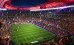 Projeto de reforma do Camp Nou, o estádio do Barcelona