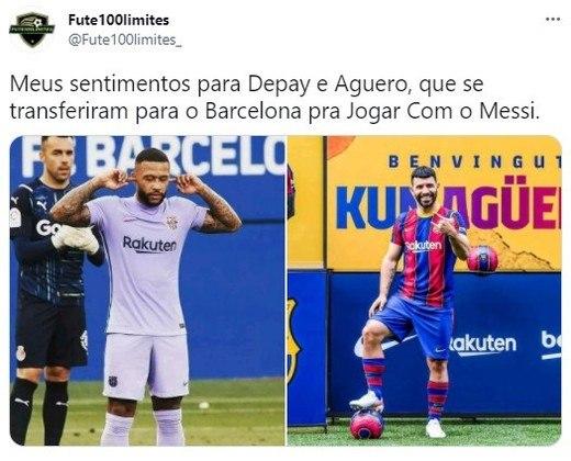 Barcelona não renova com Lionel Messi e web faz memes com o recém-contratado Kun Aguëro