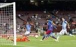 Sergio Roberto marcou o quarto gol, que fechou o placar de 4 a 2 para o Barcelona