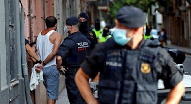 Ao todo, 19 pessoas já foram presas na Catalunha por causa de supostos vínculos com jihadistas