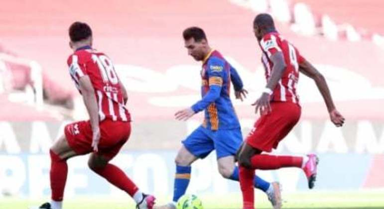 Barcelona x Atlético de Madrid - Lionel Messi
