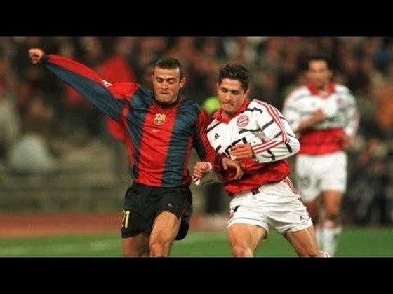 Barcelona x Bayern de Munique - 1998/99 - Terceiro no Grupo D - Duas derrotas (1 x 0 e 2 x 1) para o Bayern de Munique