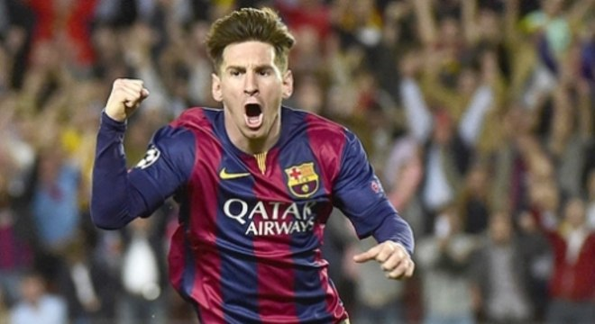 Barcelona x Bayern de Munique - Liga dos Campeões - Messi (Foto: Pierre-Philippe Marcou/AFP)