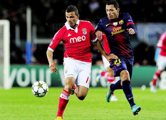 Barcelona x Benfica - 2012/13 - Primeiro no Grupo G - Uma vitória (2 x 0) e um empate (0 x 0) com o Benfica