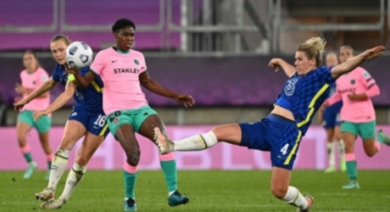 Barcelona x Chelsea - Final da Champions League feminina