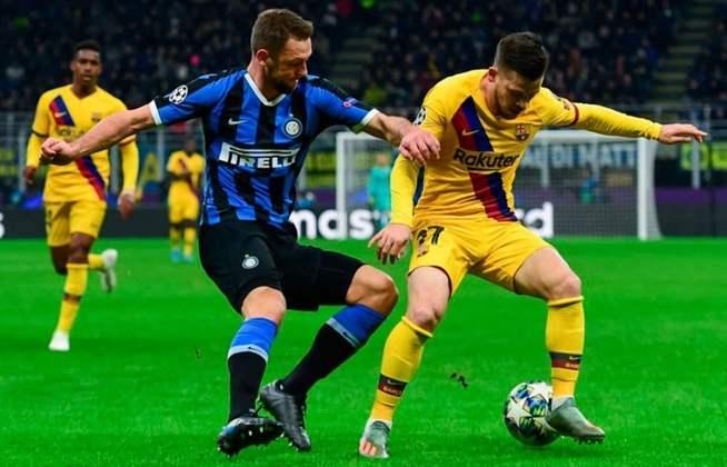 Barcelona x Inter de Milão - 2019/20 - Primeiro no Grupo F - Duas vitórias (2 x 1 e 2 x 1) sobre a Inter de Milão
