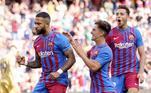 O Barcelona passou com facilidade pela equipe do Levante. Com gols de Depay, Luuk de Jong e Ansu Fati, os catalães construíram o resultado de 3 a 0 sem sustos e ocupam a 5ª colocação na La Liga
