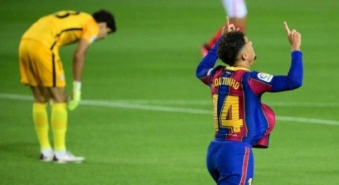 Barcelona x Sevilla - Coutinho