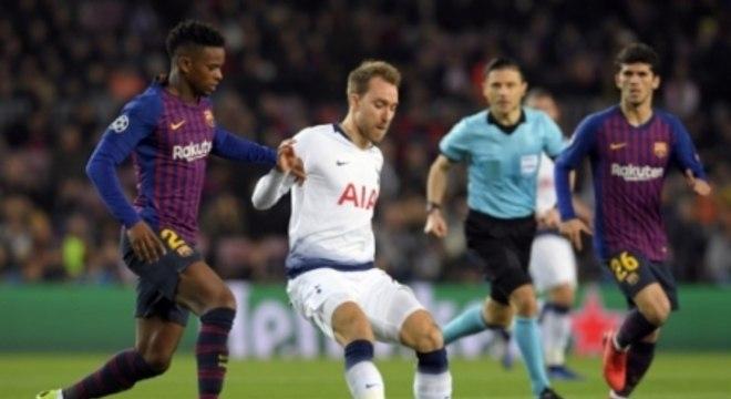Barcelona x Tottenham