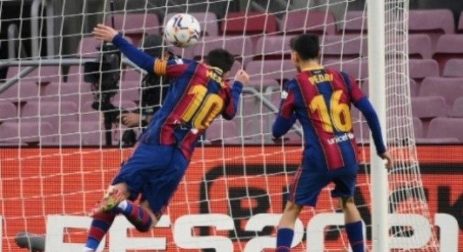 Barcelona x Valencia - Messi
