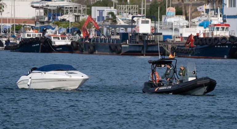A lancha do foi encontrada à deriva em Tenerife dias após o desaparecimento