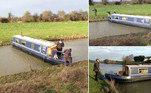 Gordon Chesterman era orientador da Universidade de Cambridge e navegava no barco Ouse Why, em um canal da região de Cambridgeshire, no Reino Unido. A ideia era ter um dia tranquilo com amigos e parte da famíliaLEIA MAIS:Jovem fica verde-Shrek após aplicar bronzeador artificial vencido