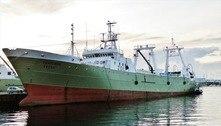 Navio com metade da tripulação com covid-19 ancora em Salvador